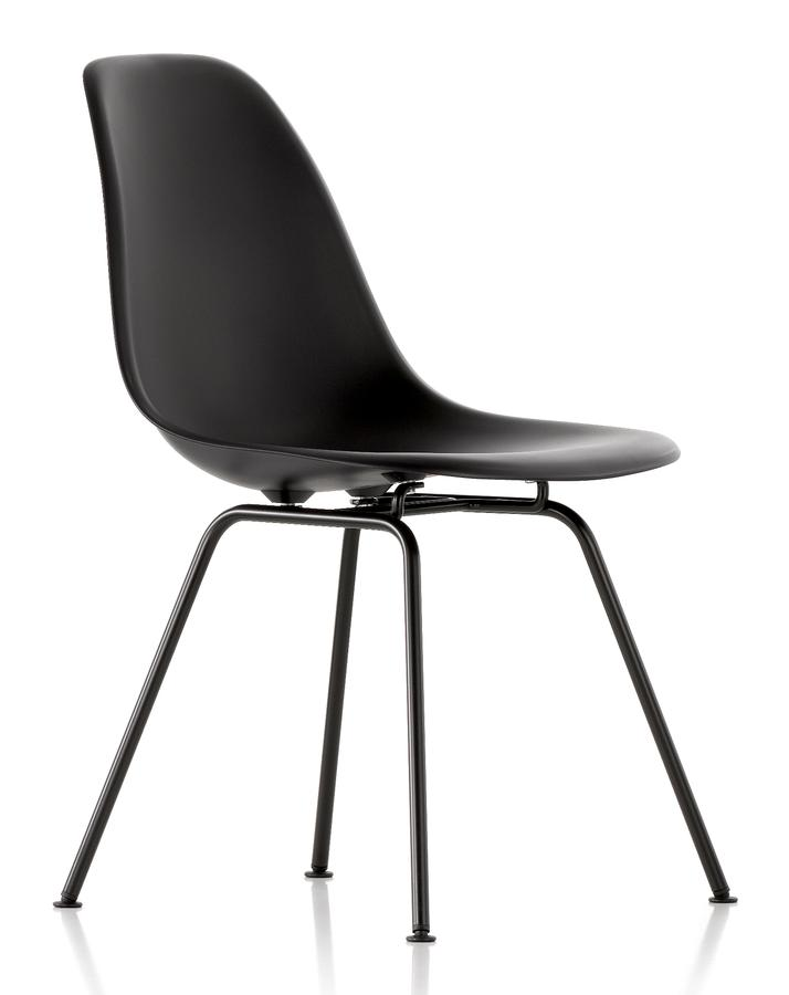 vitra eames plastic side chair dsx mauve grey without upholstery without upholstery lower. Black Bedroom Furniture Sets. Home Design Ideas