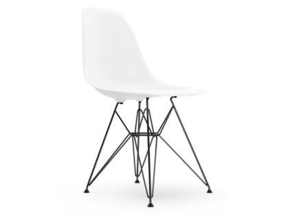 vitra eames plastic side chair dsr white without upholstery