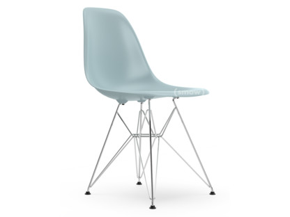 vitra eames plastic side chair dsr ice grey without. Black Bedroom Furniture Sets. Home Design Ideas
