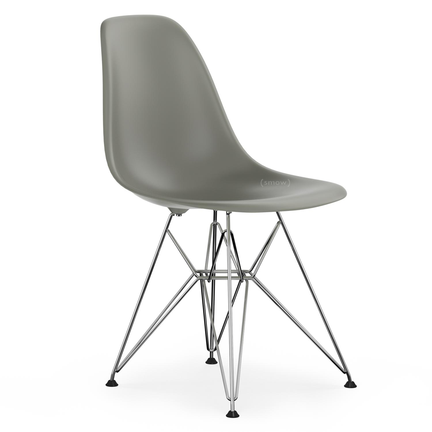vitra eames plastic side chair dsr mauve grey without. Black Bedroom Furniture Sets. Home Design Ideas