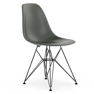 Eames Plastic Side Chair Dsr vitra eames plastic side chair dsr basalt grey without upholstery