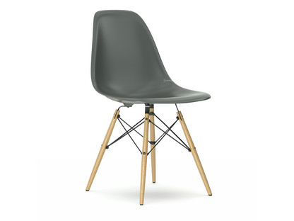Eames Plastic Side Chair DSW Moss Grey|Without Upholstery|Without  Upholstery|Standard Version