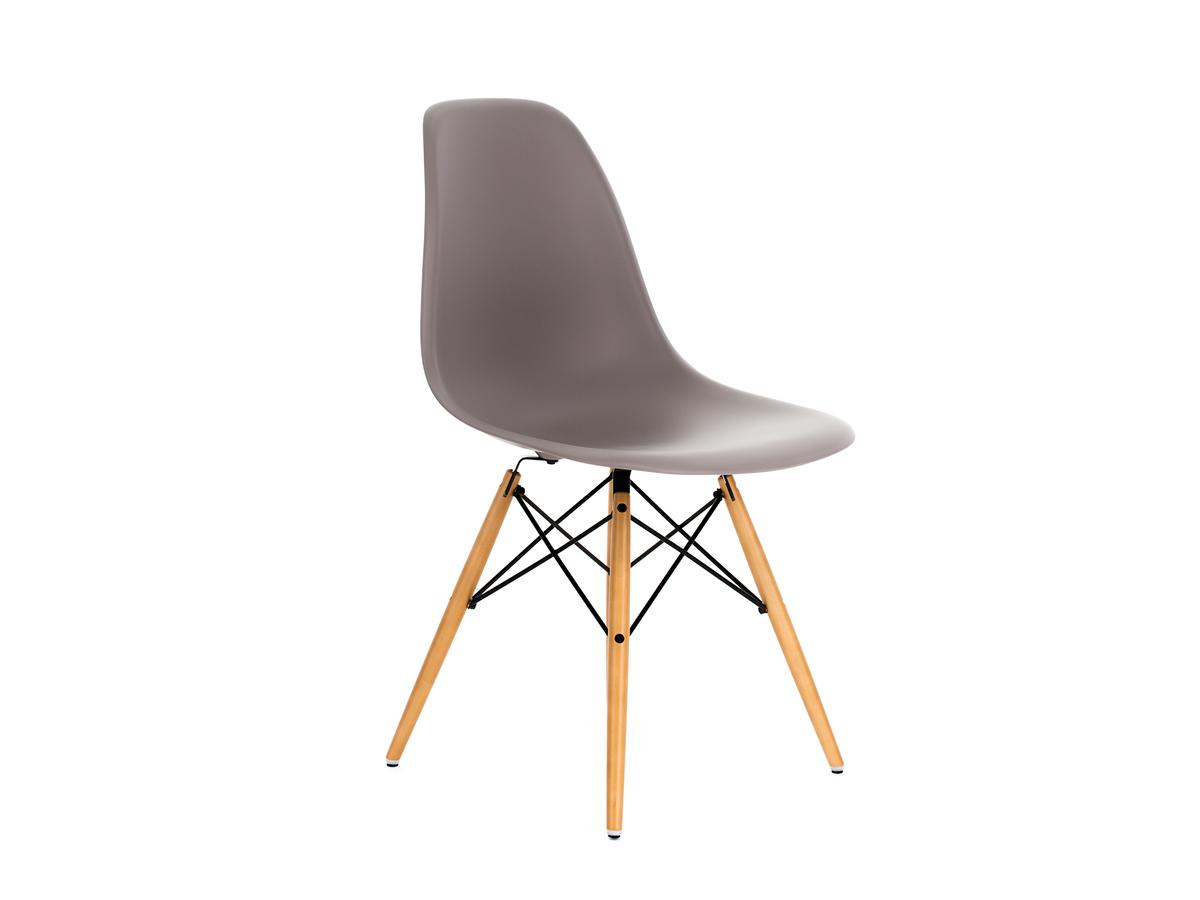 vitra eames plastic side chair dsw mauve grey without. Black Bedroom Furniture Sets. Home Design Ideas