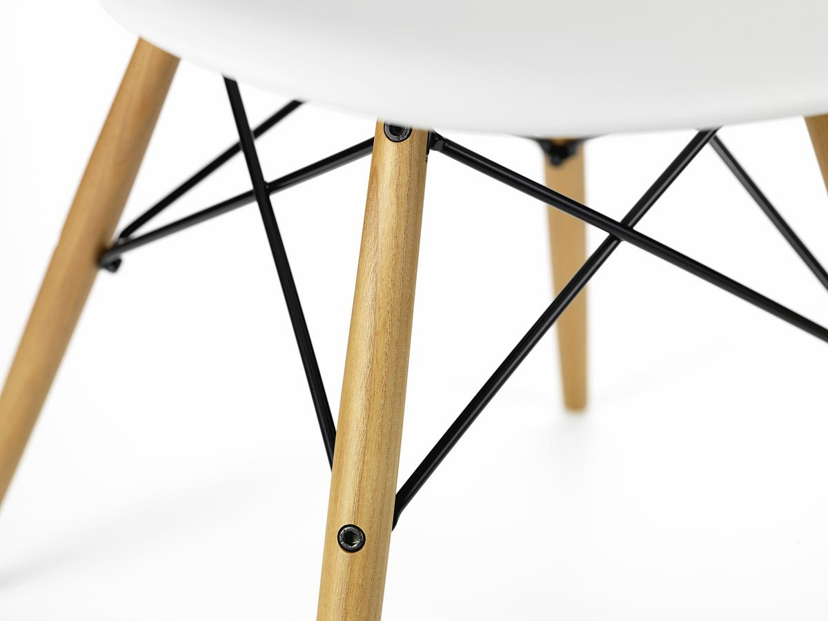 eames plastic side chair dsw stuhl mit sitzpolster vitra. Black Bedroom Furniture Sets. Home Design Ideas