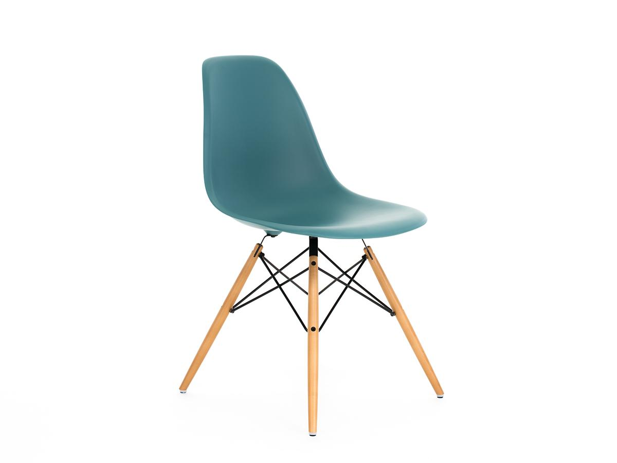 vitra eames plastic side chair dsw ocean without upholstery without upholstery lower version. Black Bedroom Furniture Sets. Home Design Ideas
