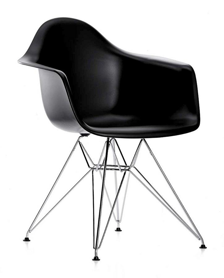 vitra eames plastic armchair dar by charles ray eames. Black Bedroom Furniture Sets. Home Design Ideas