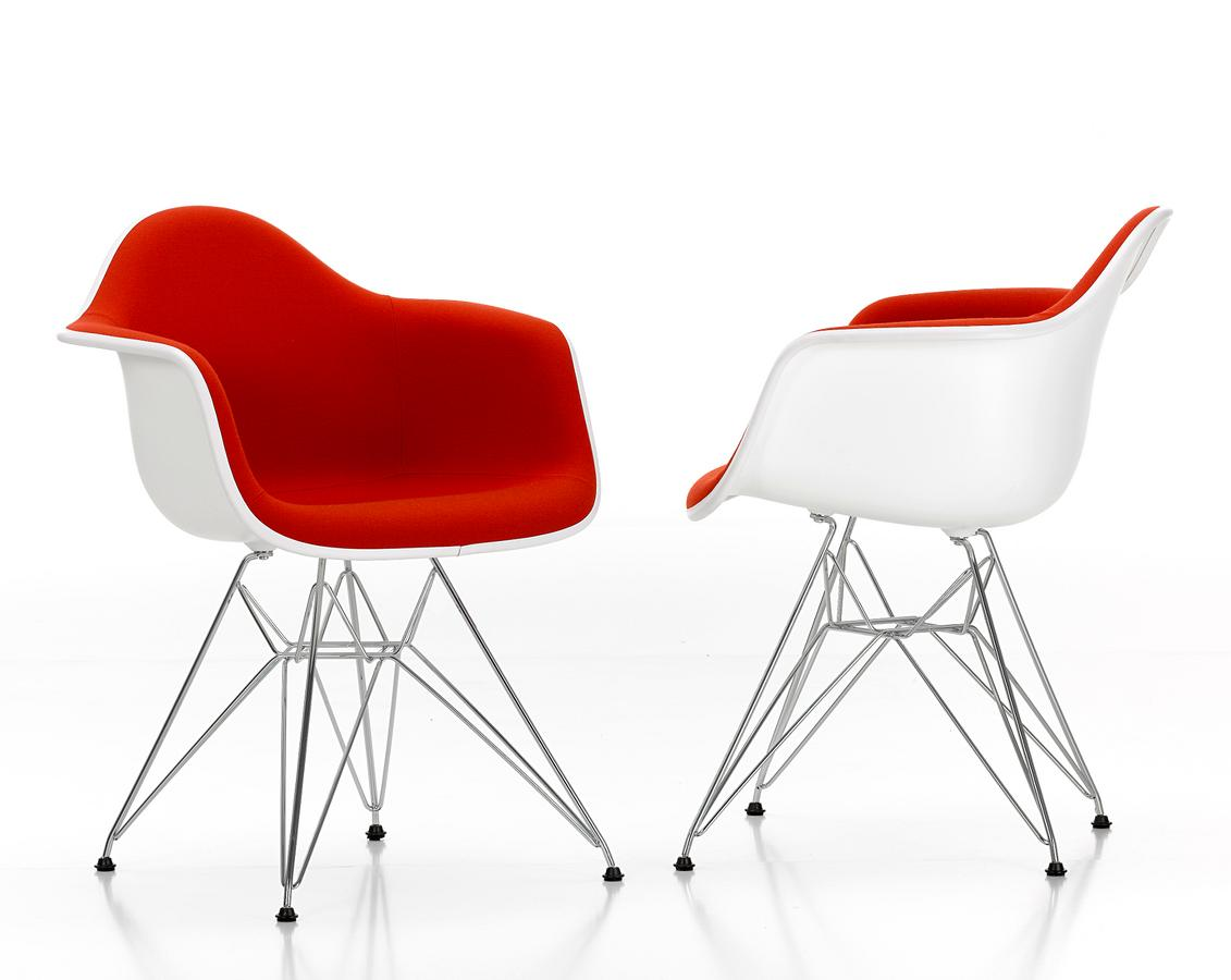 Vitra eames plastic armchair dar by charles ray eames for Armchair furniture