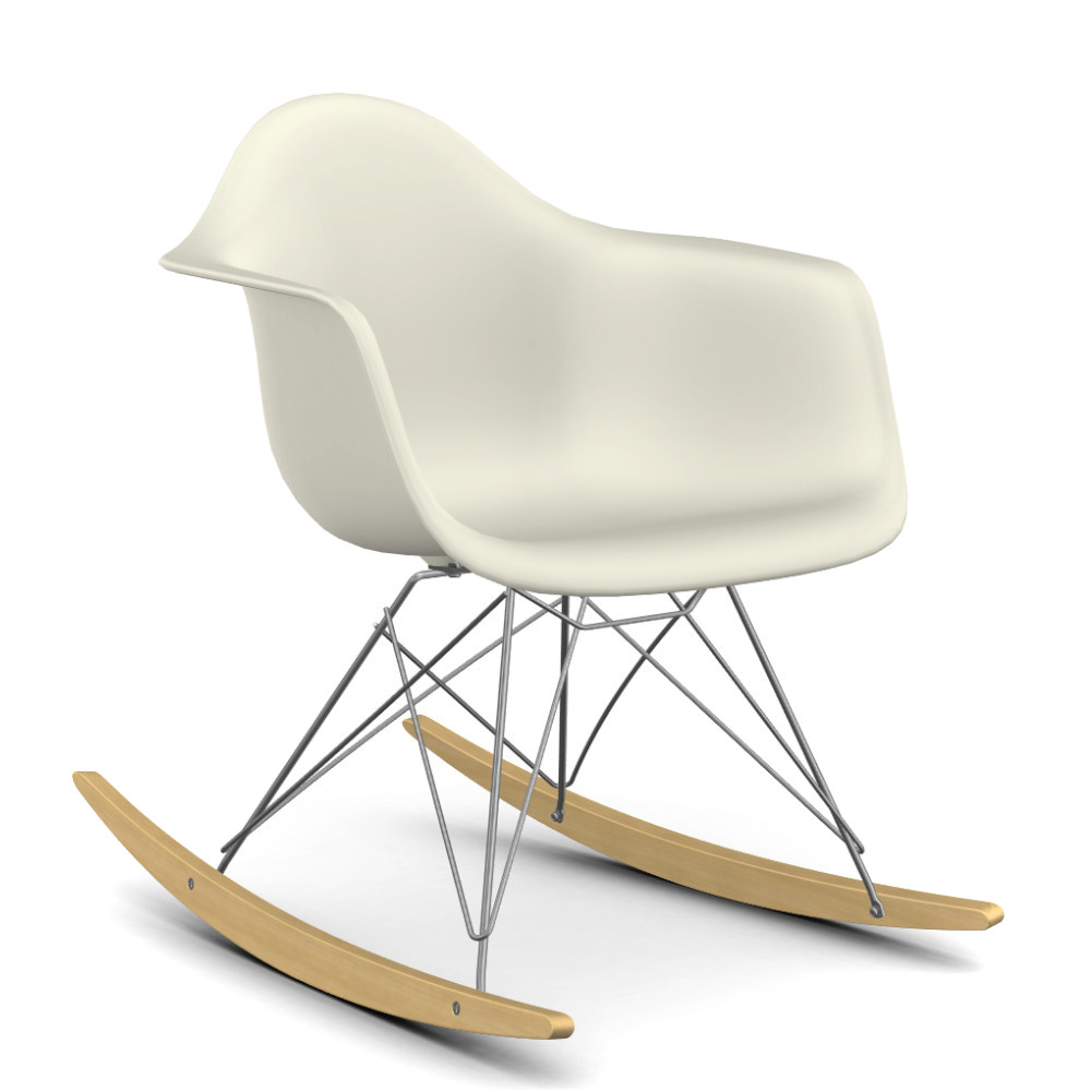 Vitra eames plastic armchair rar by charles ray eames for Chaises rar charles eames