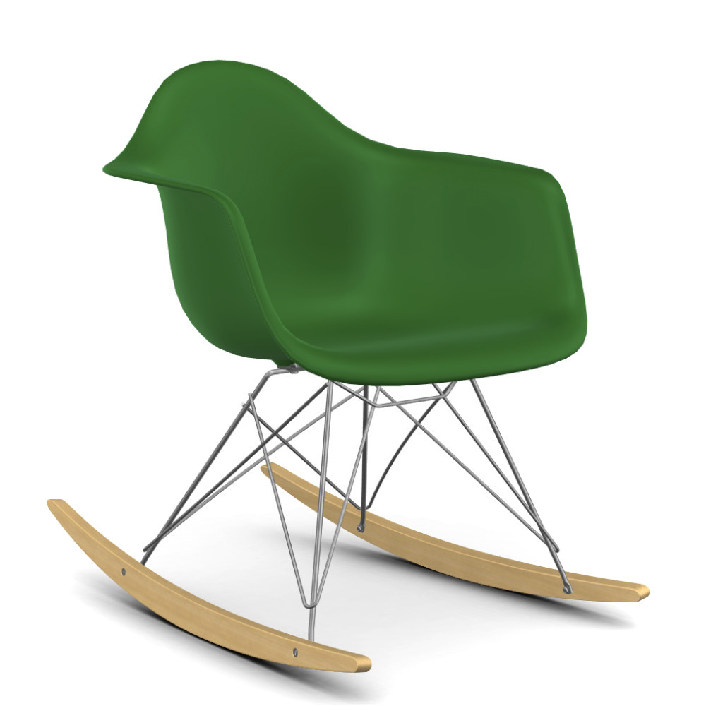 Vitra eames plastic armchair rar by charles ray eames for Chaise fauteuil