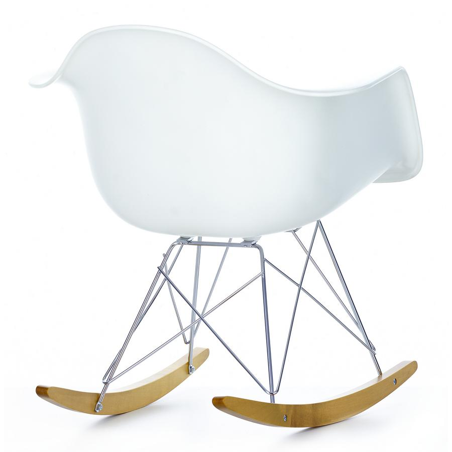 Vitra eames plastic armchair rar by charles ray eames for Design eames