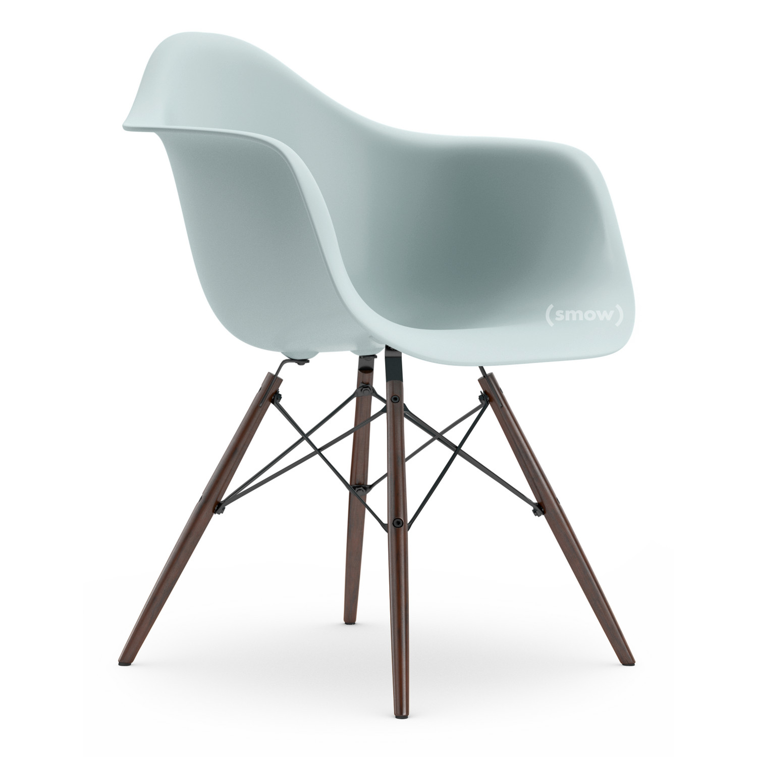 Vitra eames plastic armchair daw by charles ray eames for Design eames