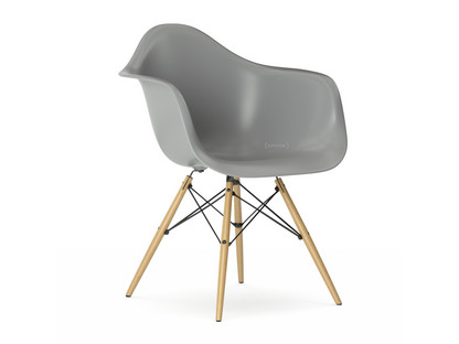 Eames Plastic Armchair DAW Mauve Grey|Without Upholstery|Without  Upholstery|Standard Version