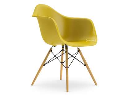 Eames Plastic Armchair DAW Mustard|Without Upholstery|Without  Upholstery|Standard Version   New