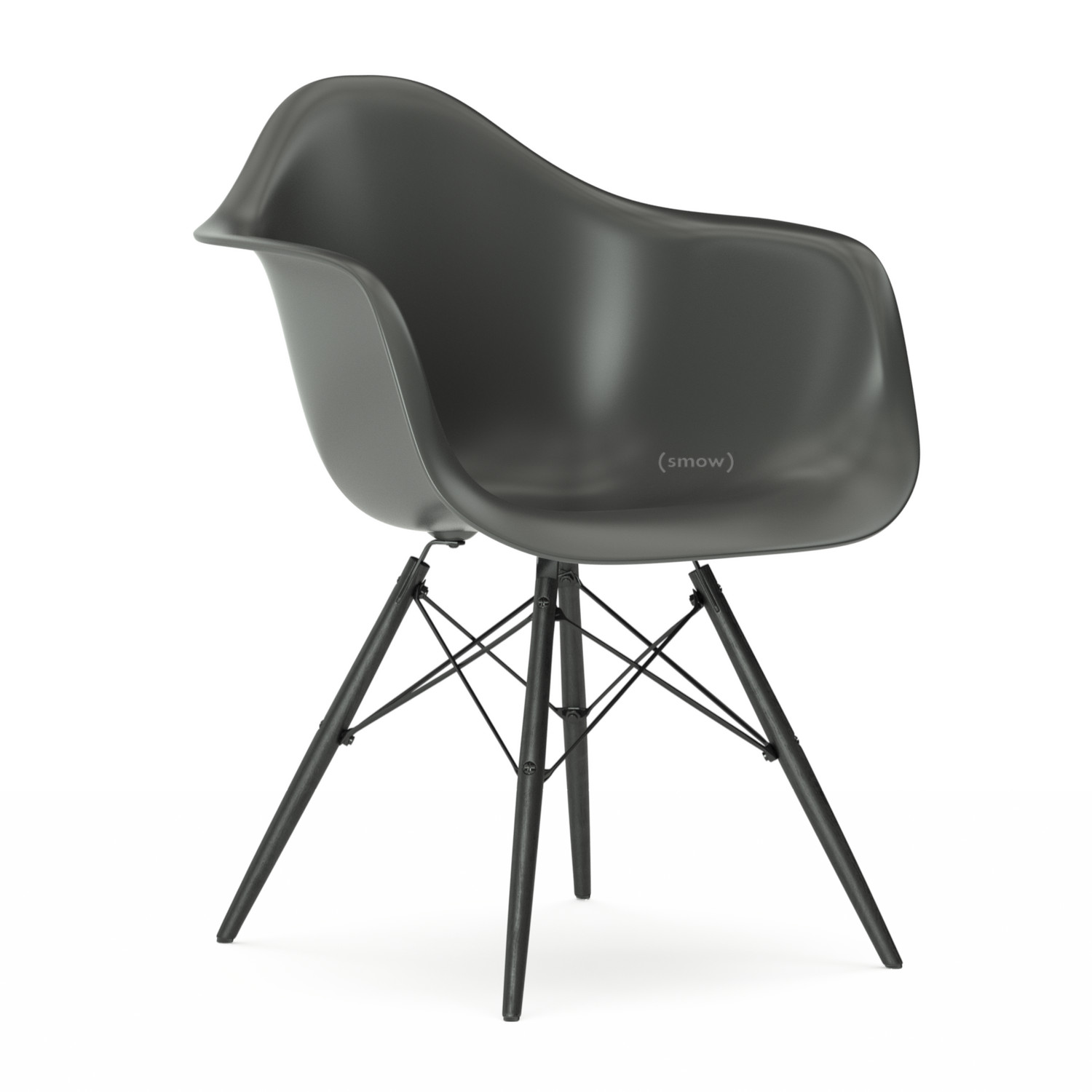 vitra eames plastic armchair daw by charles ray eames. Black Bedroom Furniture Sets. Home Design Ideas