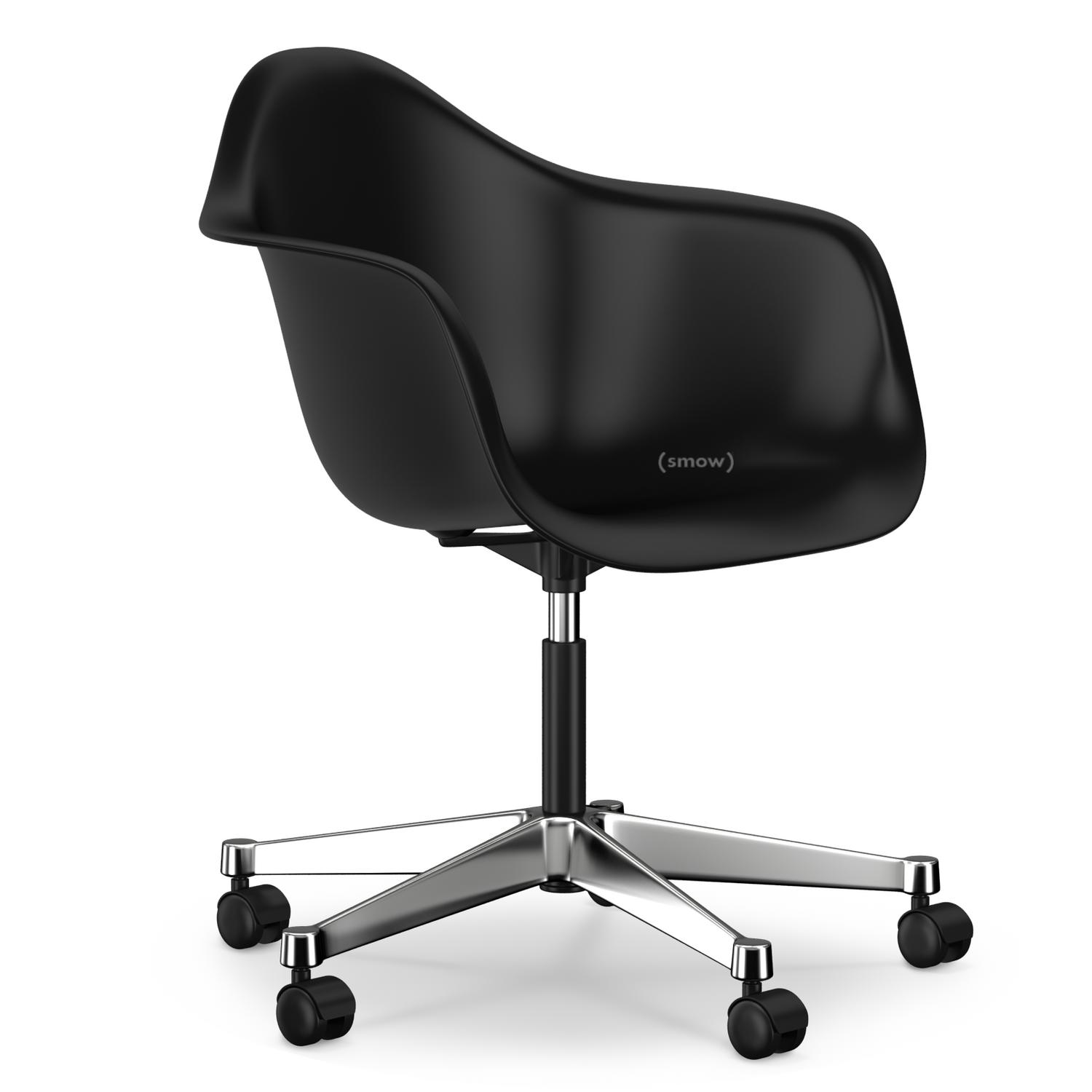 Vitra eames plastic armchair pacc basic dark without for Eames vitra nachbau
