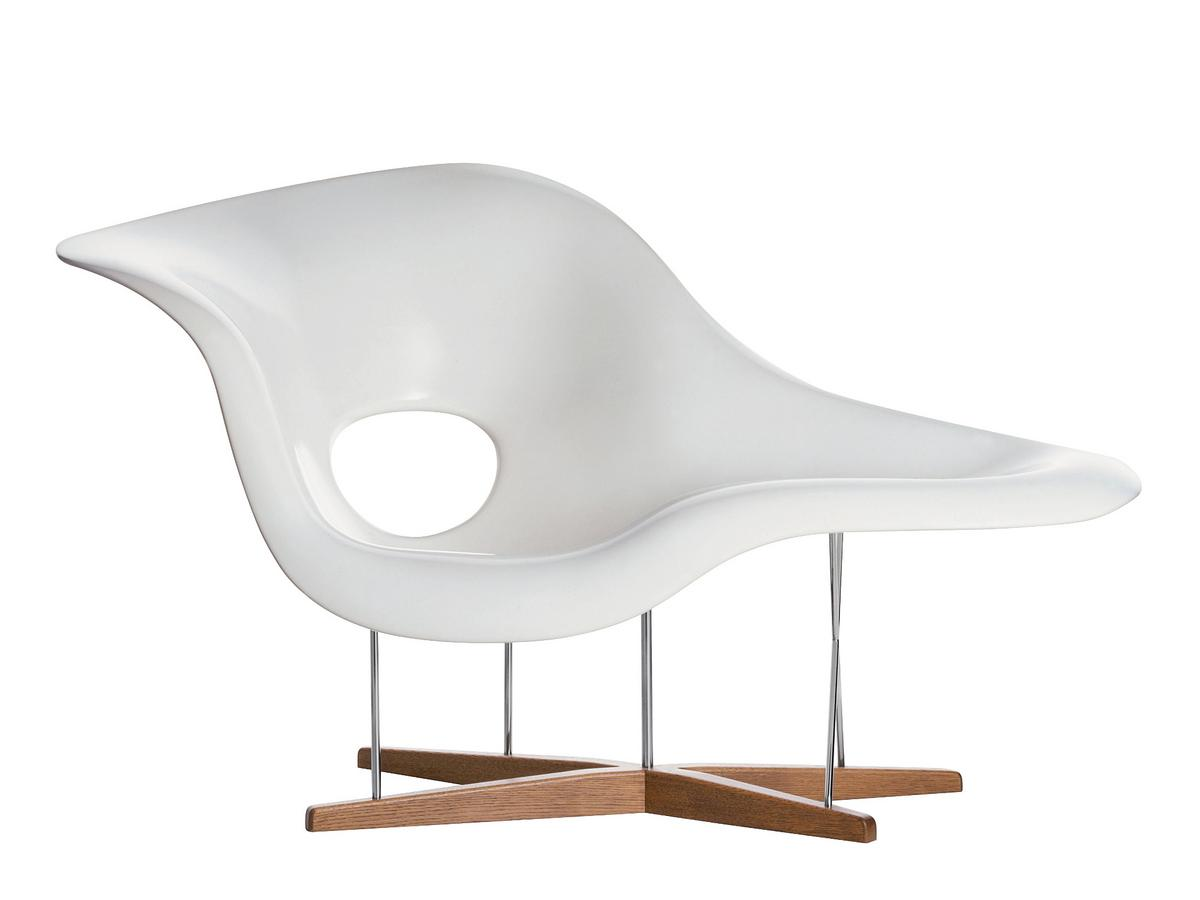 Vitra la chaise by charles ray eames 1948 designer for Chaise designer