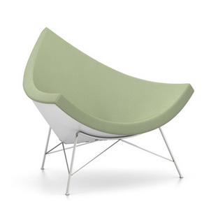 Coconut Chair Hopsak|Ivory / forest