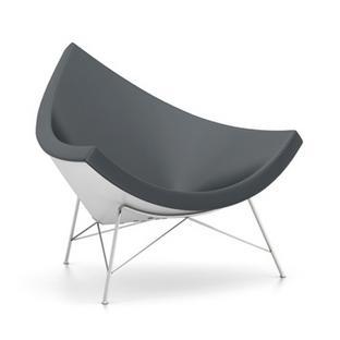 Coconut Chair Leather|Asphalt