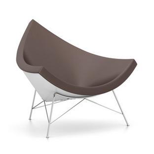 Coconut Chair Leather Marron