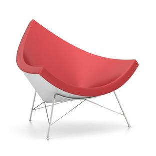 Coconut Chair Leather|Red