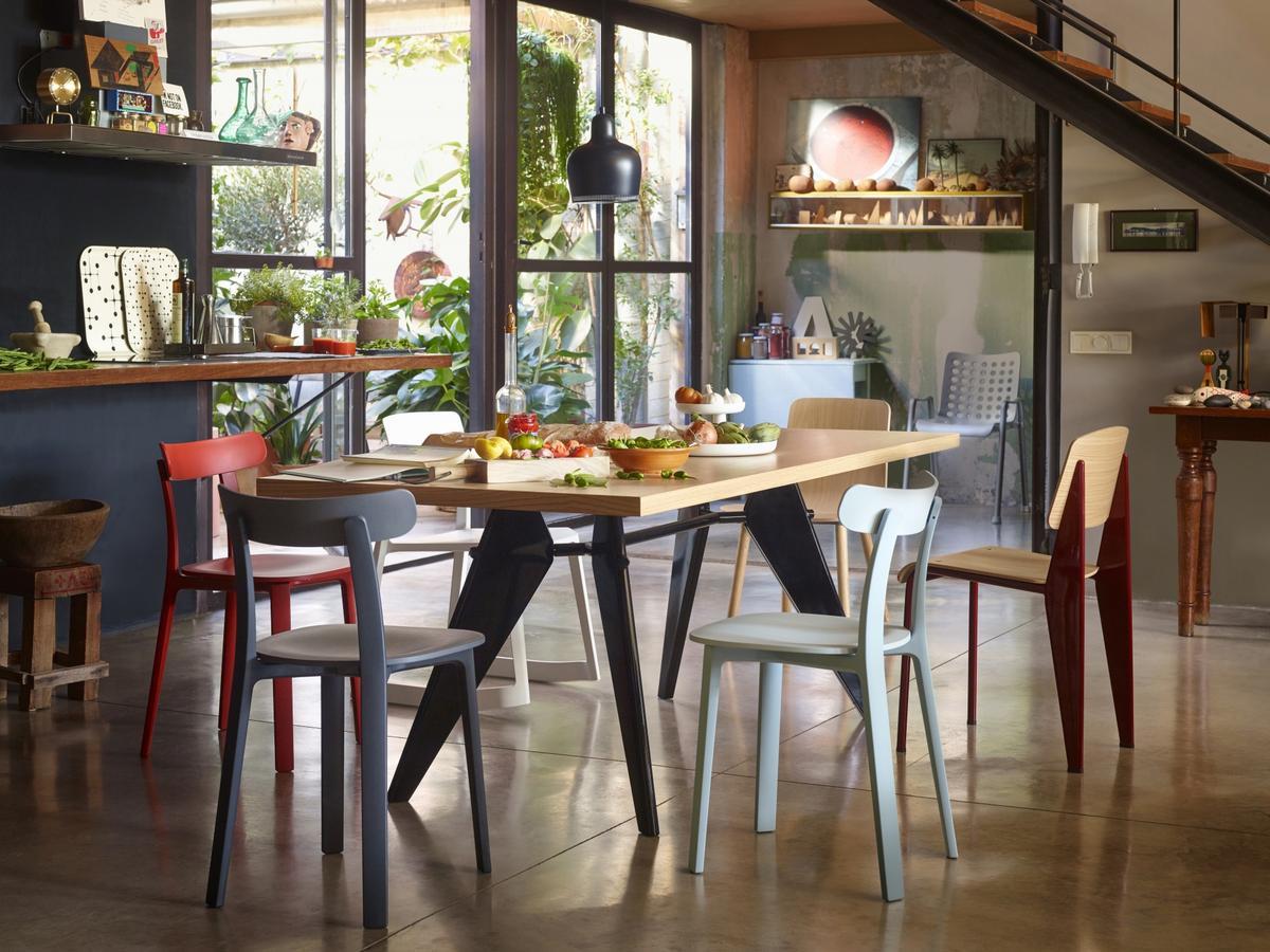 Vitra EM Table By Jean Prouv 1950 Designer Furniture