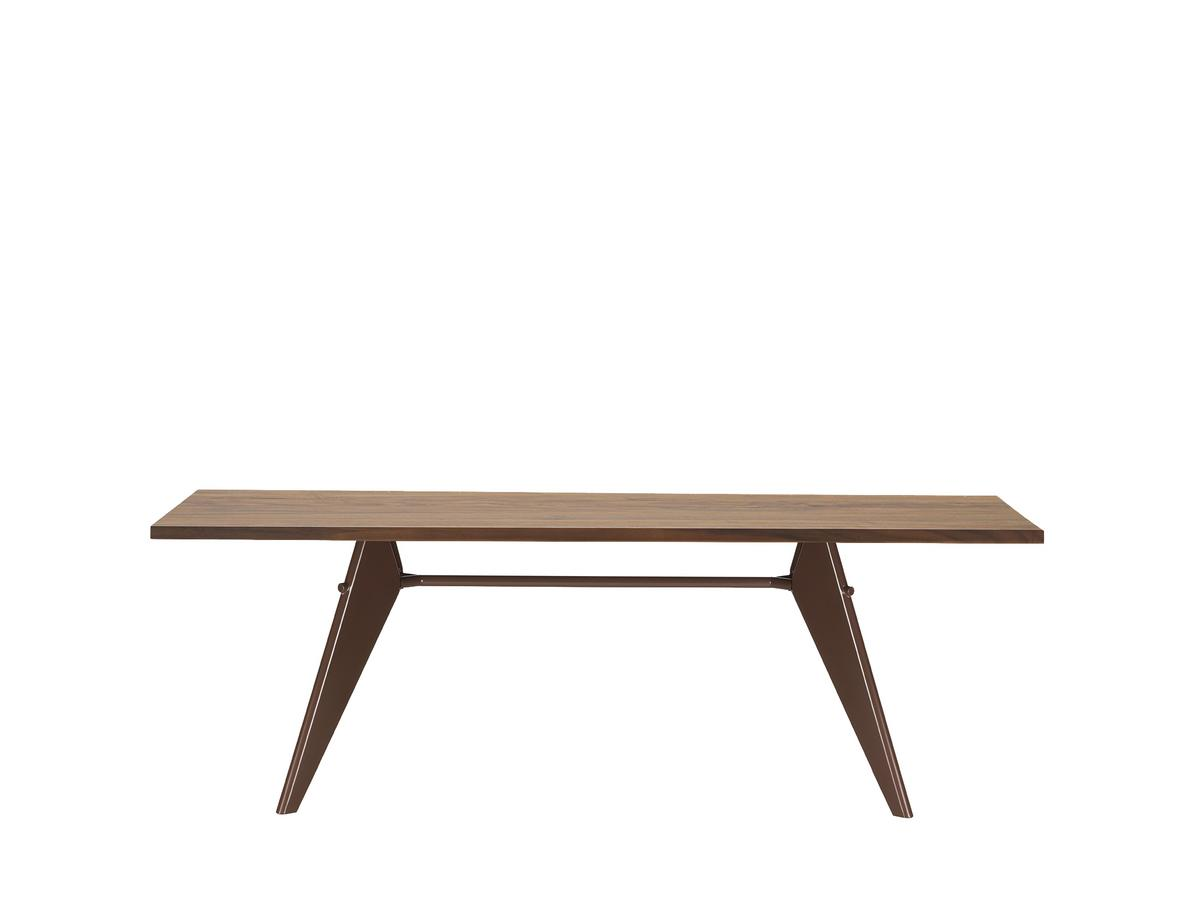 Vitra Em Table 2200 X 900 Mm American Walnut Solid Oiled