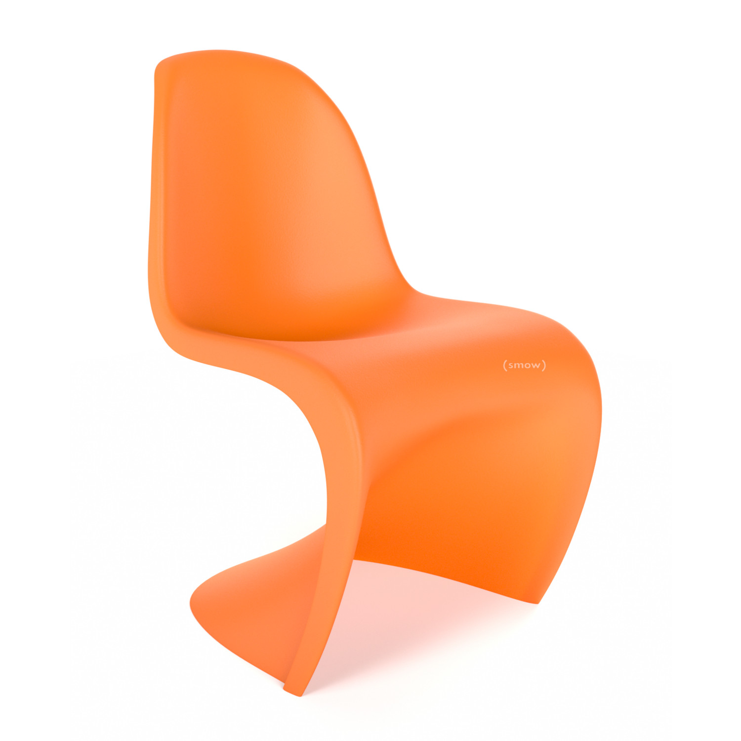 vitra panton chair tangerine by verner panton 1999 designer furniture by. Black Bedroom Furniture Sets. Home Design Ideas