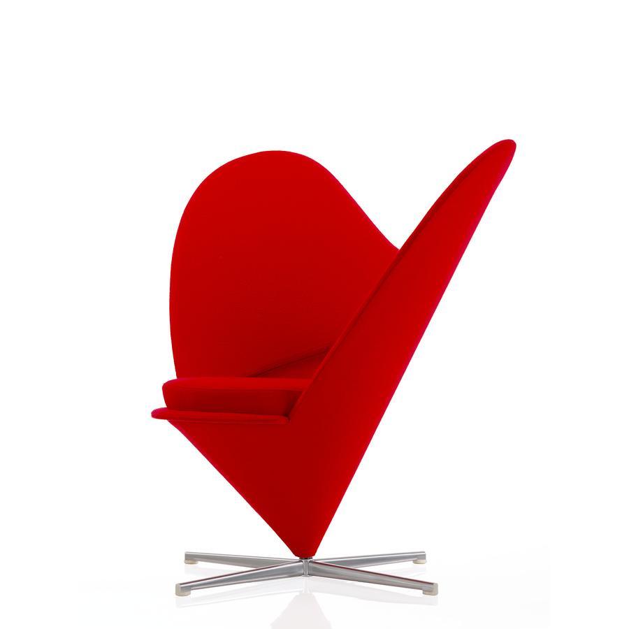Vitra Heart Cone Chair by Verner Panton, 1959 - Designer furniture ...