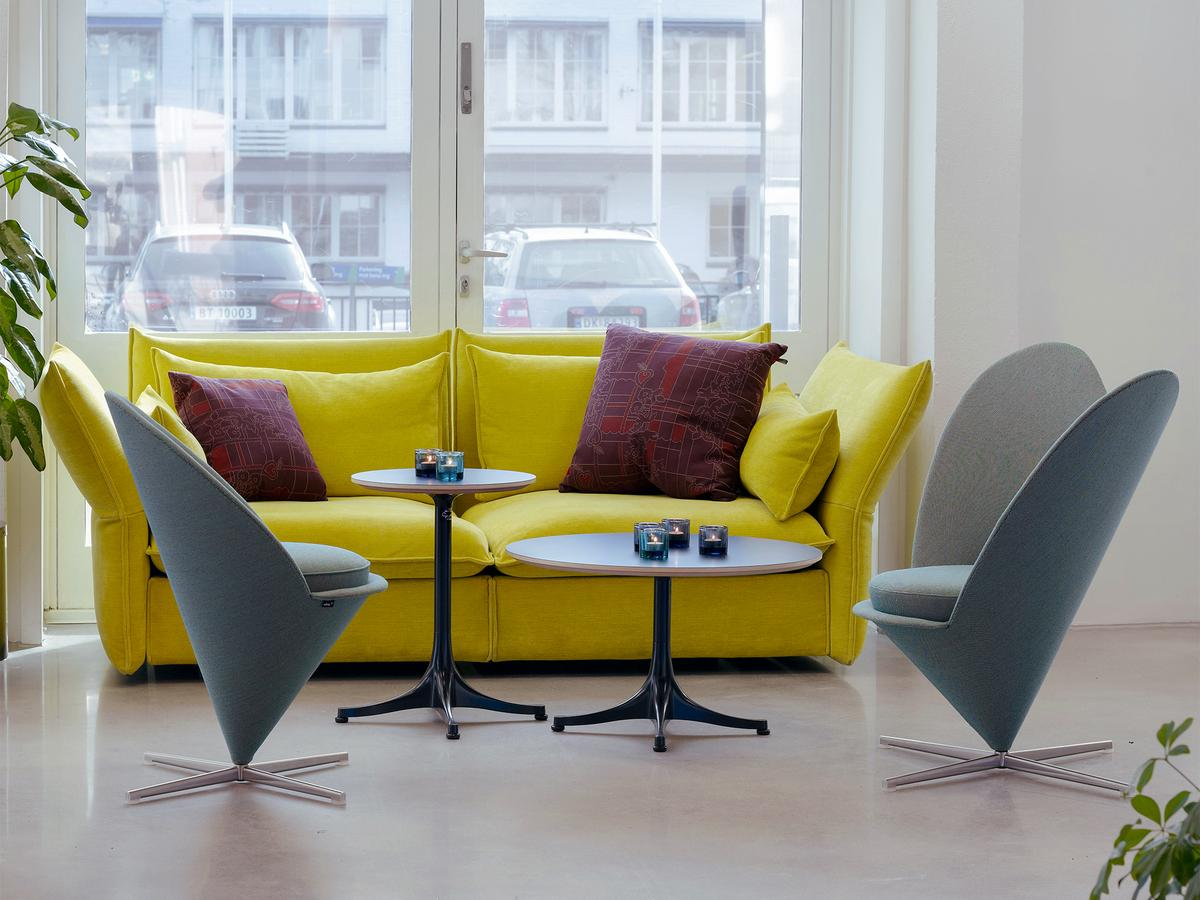 vitra heart cone chair by verner panton   designer furniture  - click here for more images