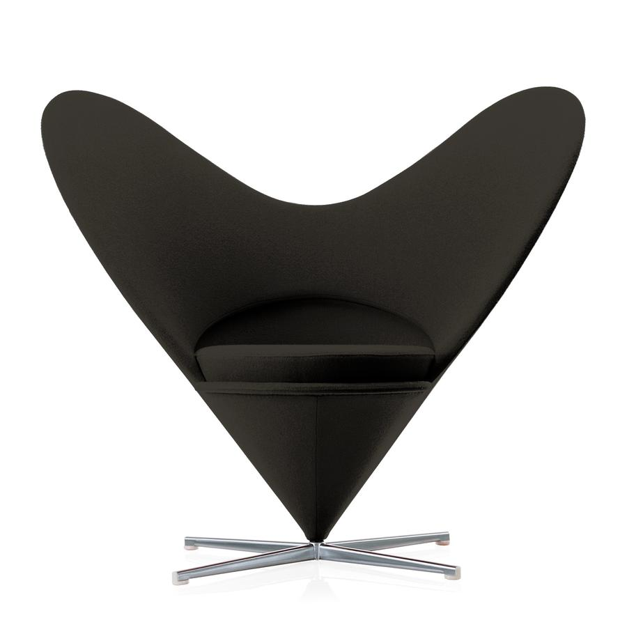 vitra heart cone chair by verner panton 1959 designer furniture by. Black Bedroom Furniture Sets. Home Design Ideas