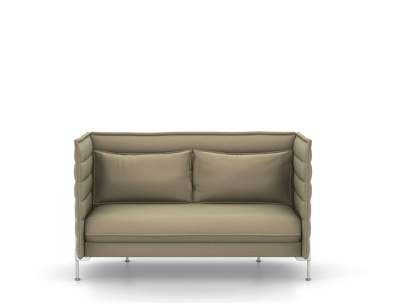 Vitra Alcove Sofa Two Seater H94 X W164 X D84 Cm Laser Warm