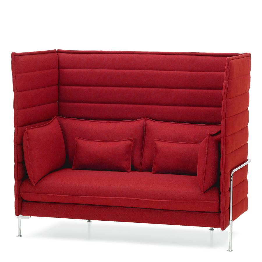 Vitra Alcove Highback Sofa By Ronan Erwan Bouroullec 2006 Designer Furniture By