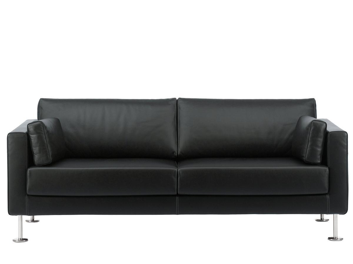Exquisit Ausgefallene Couch Foto Von Park Sofa Two-seater leather Premium nero