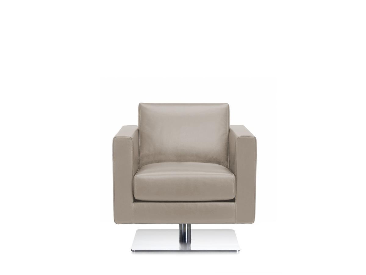 Park Swivel Armchair Leather