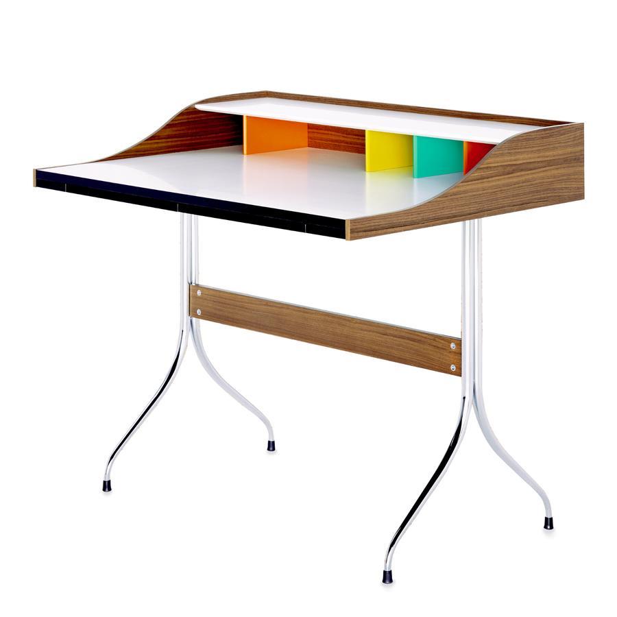 vitra home desk by george nelson 1958 designer. Black Bedroom Furniture Sets. Home Design Ideas