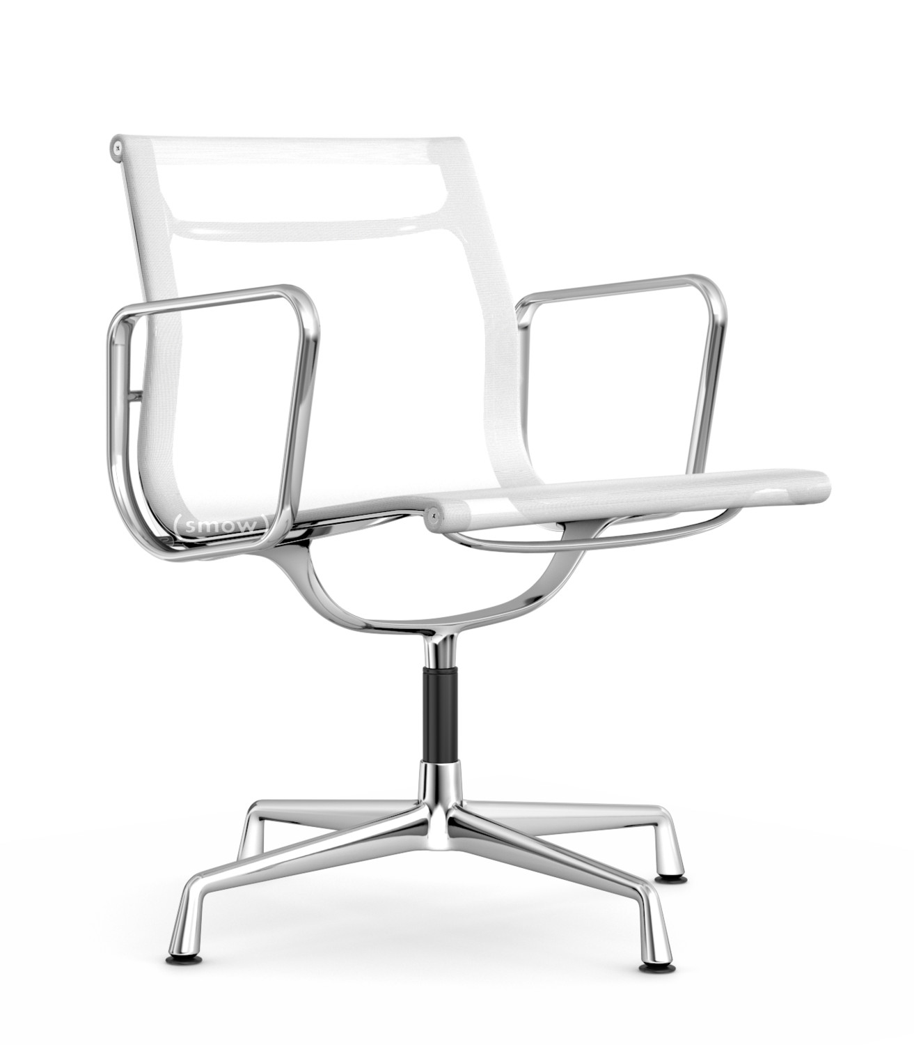 Vitra aluminium group ea 107 ea 108 ea 108 swivelling for Eames chair vitra replica