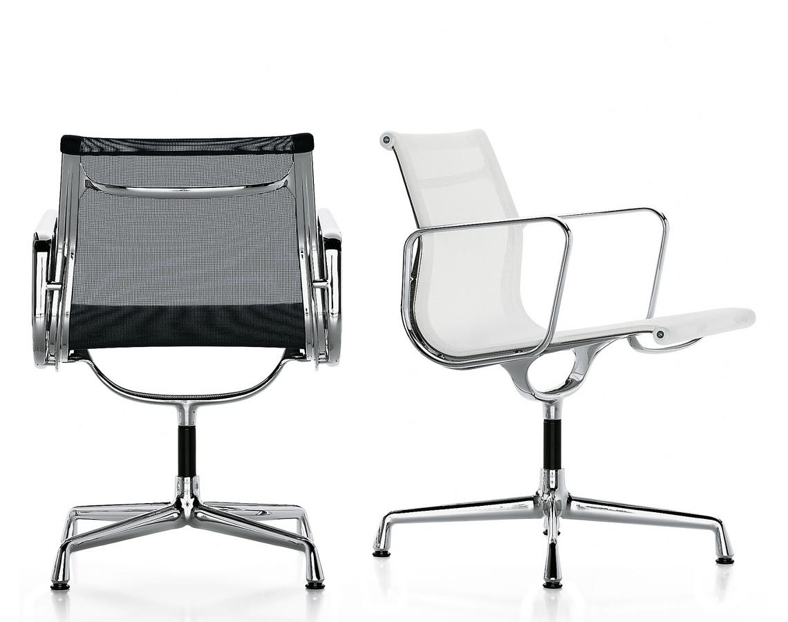 Vitra aluminium group ea 107 ea 108 by charles ray for Eames alu chair nachbau