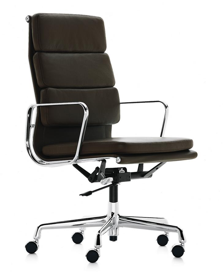 Vitra soft pad group ea 219 by charles ray eames 1969 for Chaise eames bureau