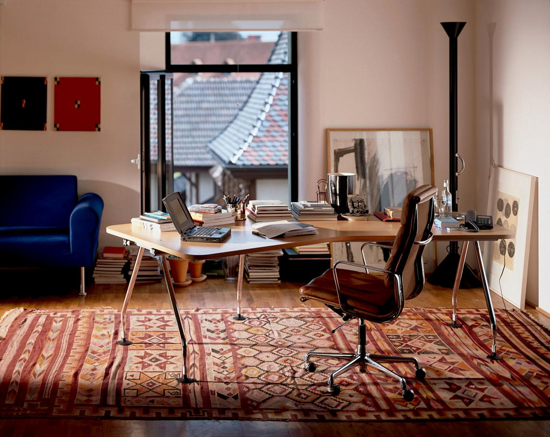 Vitra aluminium group ea 219 by charles ray eames 1969 designer furniture by smow com