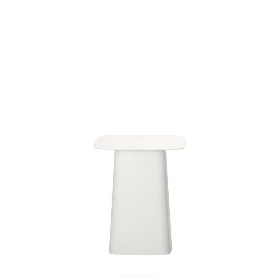 Side Table Klein.Vitra Metal Side Table White Small H 38 X B 31 5 X T 31 5 Cm