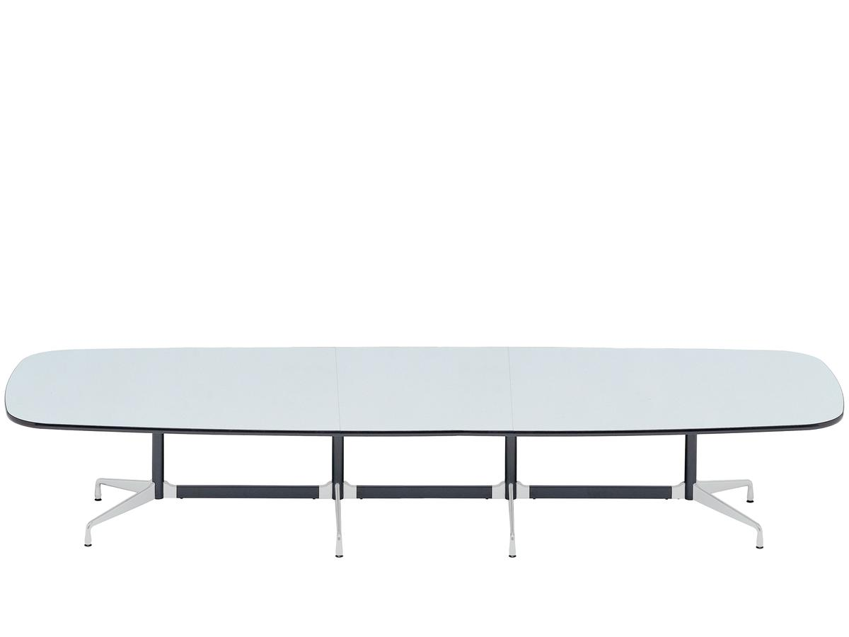 Vitra eames segmented table oval by charles ray eames for Table charles eames
