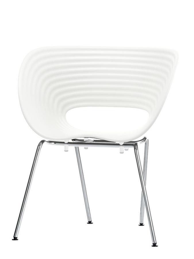 Fantastic Vitra Tom Vac Bralicious Painted Fabric Chair Ideas Braliciousco