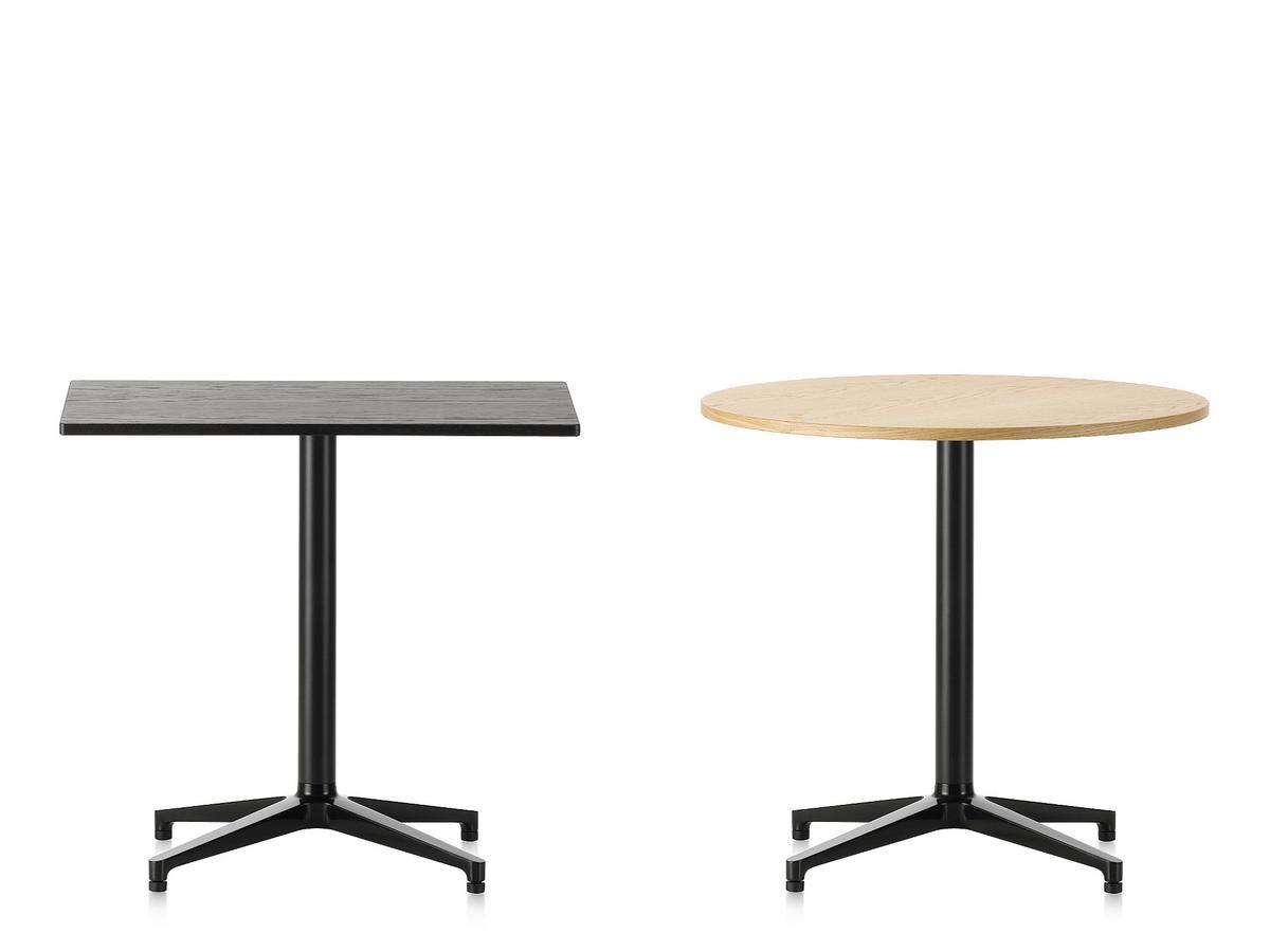 Vitra Bistro Table Indoor, rectangular (640x796 mm), dark oak ...