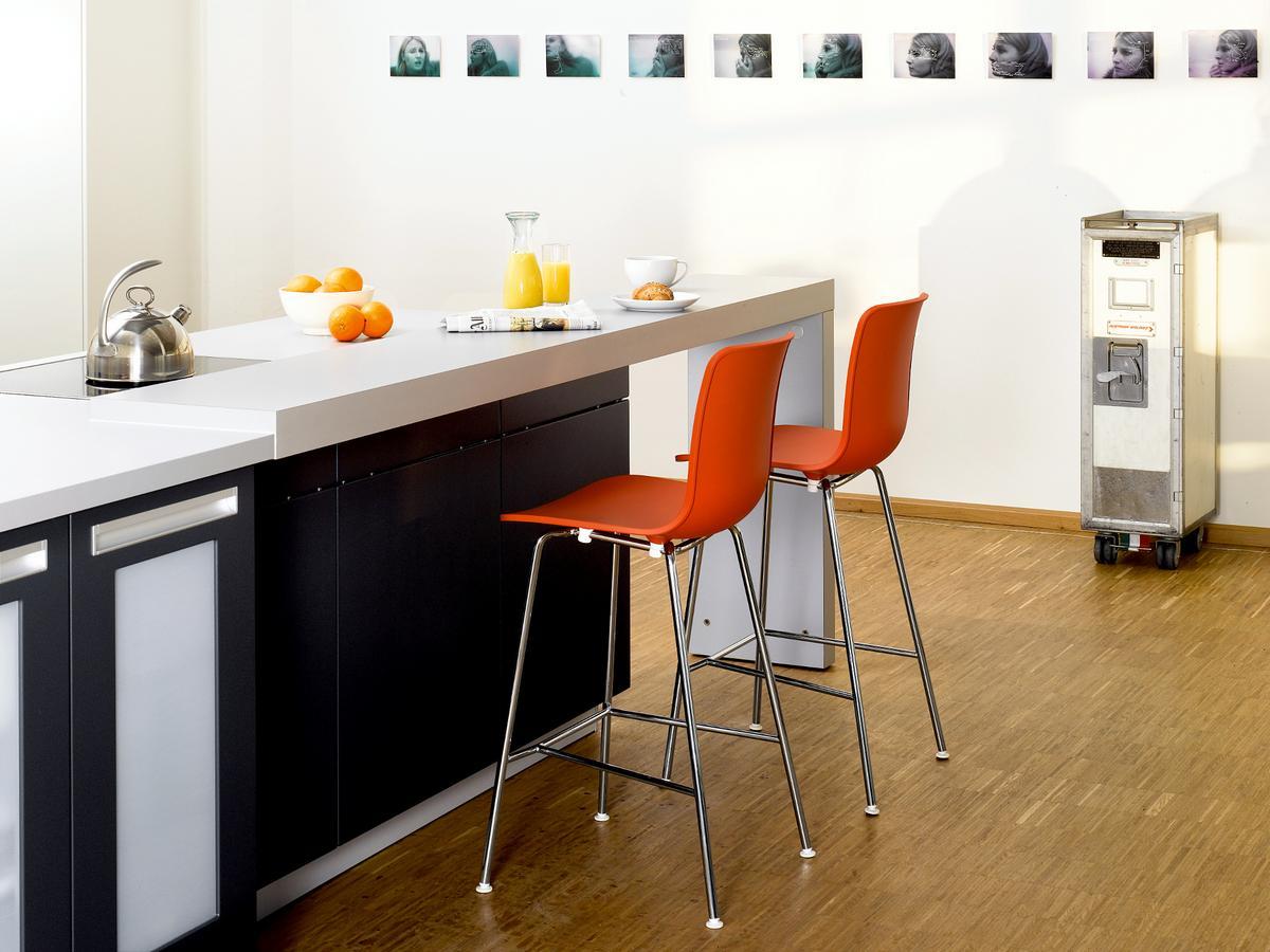 Vitra hal bar stool by jasper morrison designer furniture
