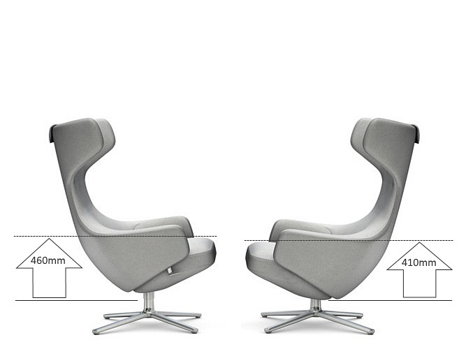 Vitra repos by antonio citterio 2011 designer furniture for Grand repos chair replica