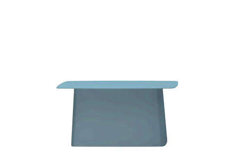 Vitra Metal Side Table.Vitra Metal Side Table Outdoor Large H 35 5 X B 70 X T 31 5 Cm Ice Grey