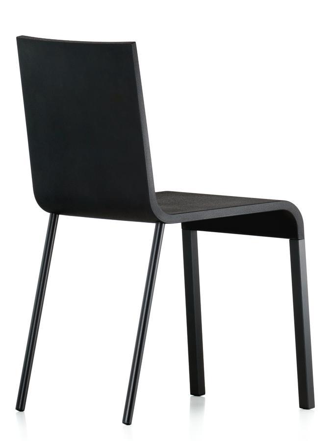 Vitra 03 black by maarten van severen 1999 designer for Chair 03 maarten van severen
