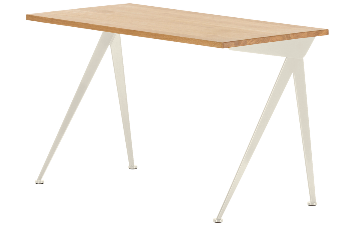 Audacieuse Vitra Compas Direction, Natural oak solid, oiled, Ecru by Jean PY-57