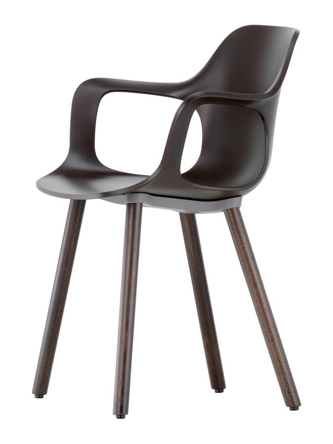 vitra hal armchair wood by jasper morrison 2014 designer furniture by. Black Bedroom Furniture Sets. Home Design Ideas