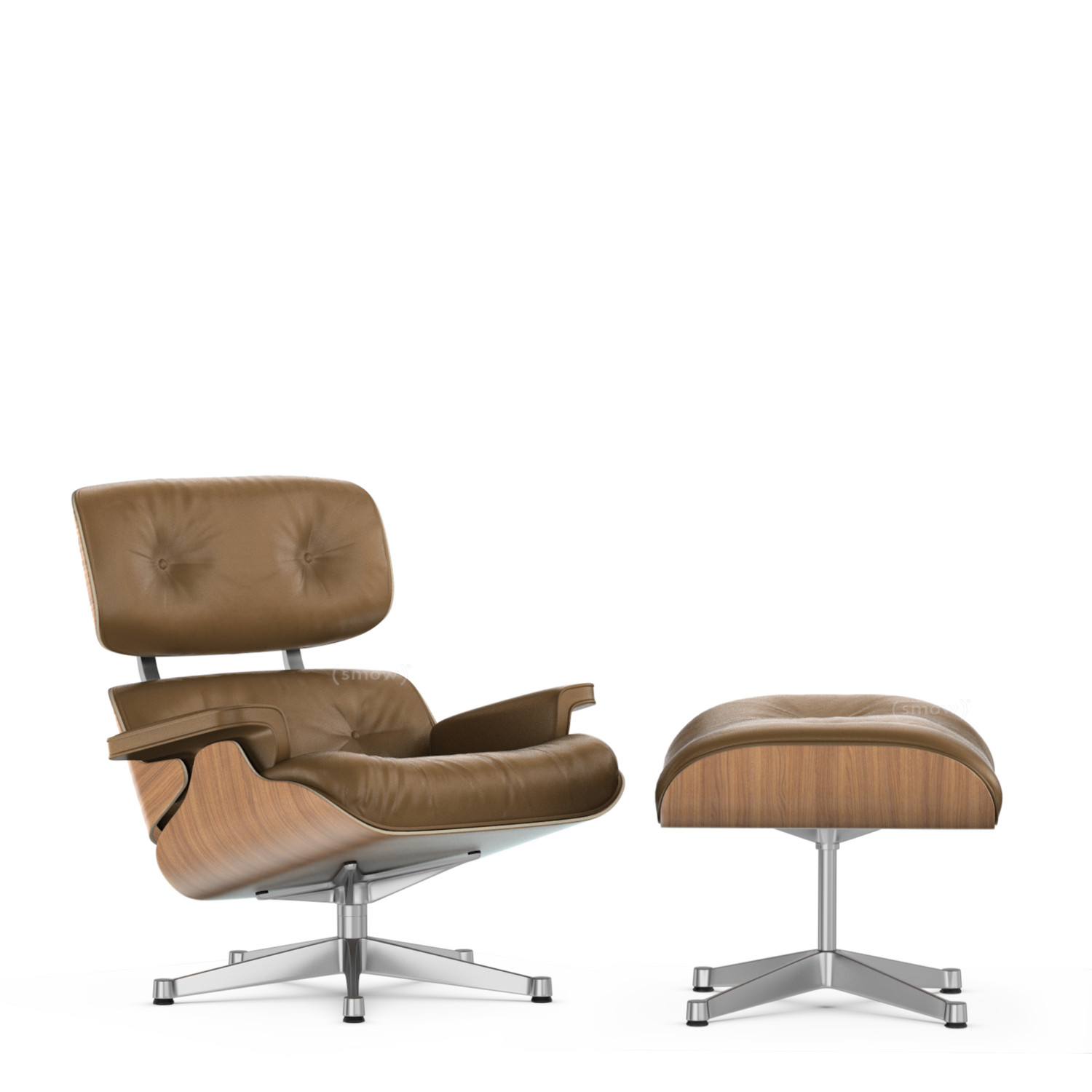 Vitra Lounge Chair Ottoman Beauty